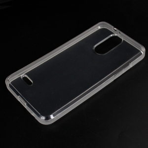 wholesale shockproof mobile phone accessory clear tpu cover case for lg q stylus case