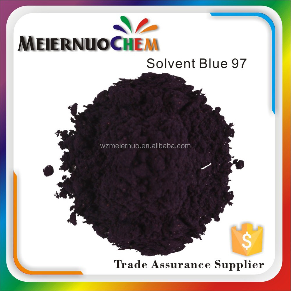 sgs certificated organic powder plastic dyestuff solvent blue 97