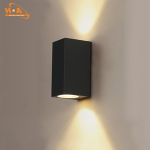 Modern garden waterproof led outdoor boundary wall light