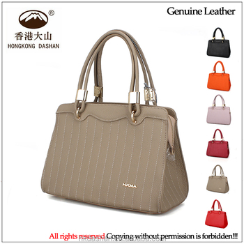 woman hand bag 2018 designer China Supplier Western Style Genuine Leather  Shoulder Bag Women Tote Hand d082926e7c