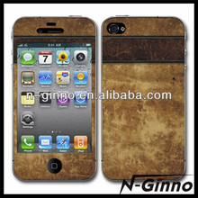 High quality skin sticker paper for iphone 4