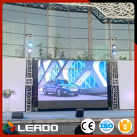 High purity Promotion personalized alibaba express led video screen rental
