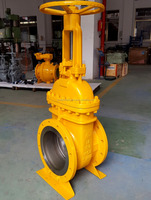 Bolted bonnet API 150lb rising stem gate valve 12""