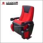 China No. 1 manufacturer Leadcom cinema chair with cup holder (LS-6601)