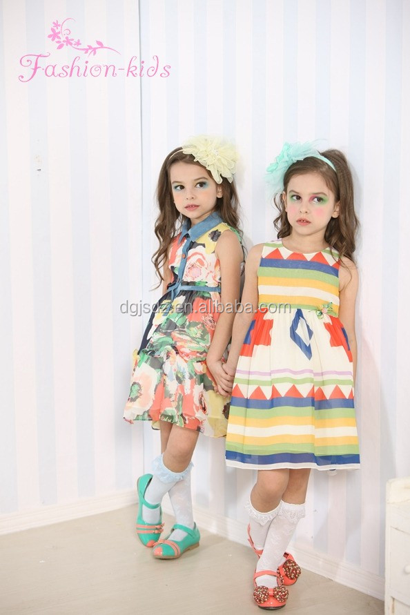 Elegante Niños Verano Ropa Ee.uu. Niños Vestido Niñas Vestidos ...
