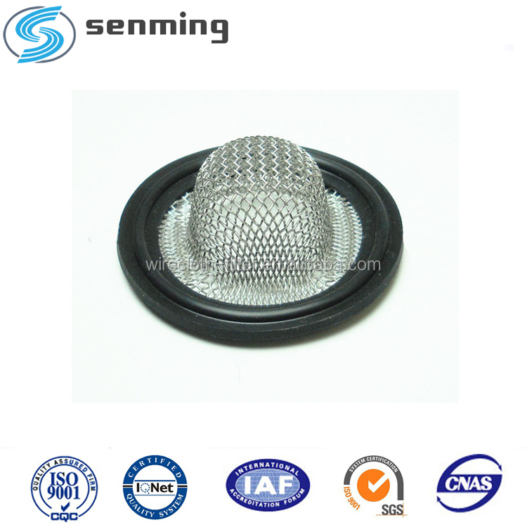 High quality hot sale Triclamp viton and buna N tri clamp screen gasket