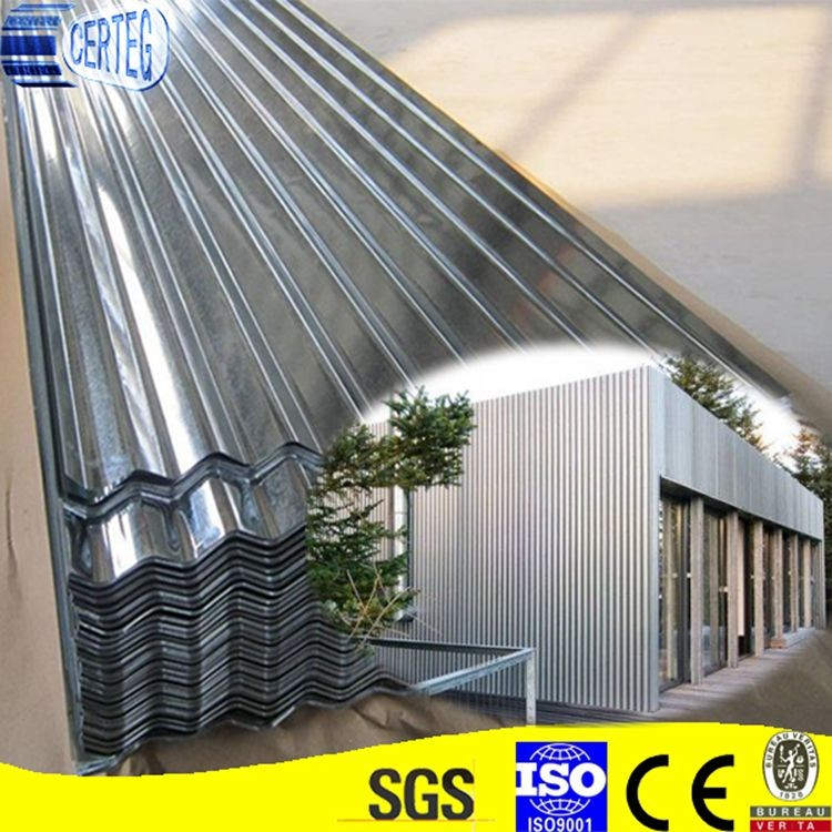 18 Gauge Galvanized Steel Roof Corrugated Metal Roofing