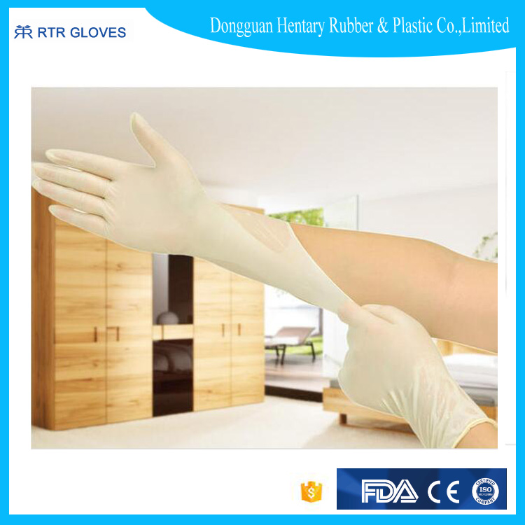 Hot selling hospital medical products latex gloves for hospital