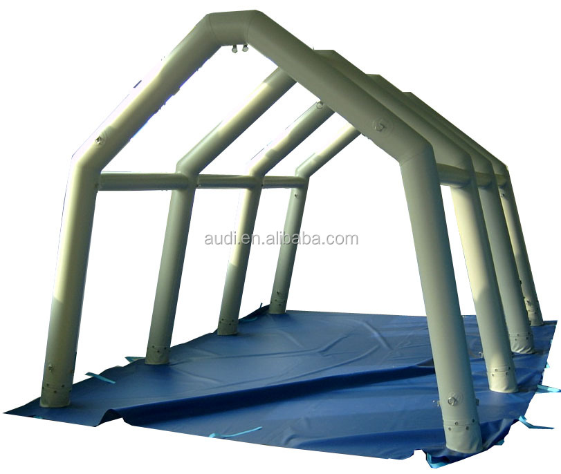 air-sealed pvc tarpaulin portable inflatable tent frames for show