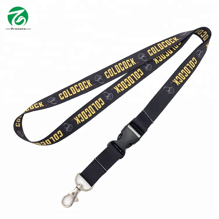 Fancy Customized Logo Lanyard With ID Badge Holders