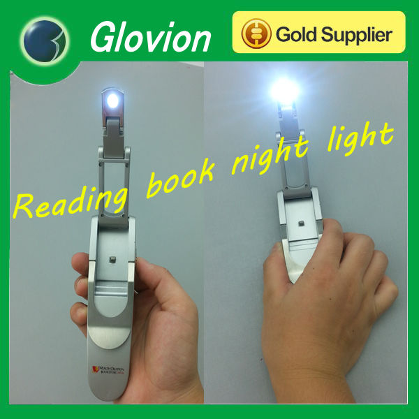 Cheap book night light fancy led lamp with clip folding light for reader