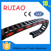 RUIAO CE approved CNC parts TEZ25 series plastic cable drag chain carrier