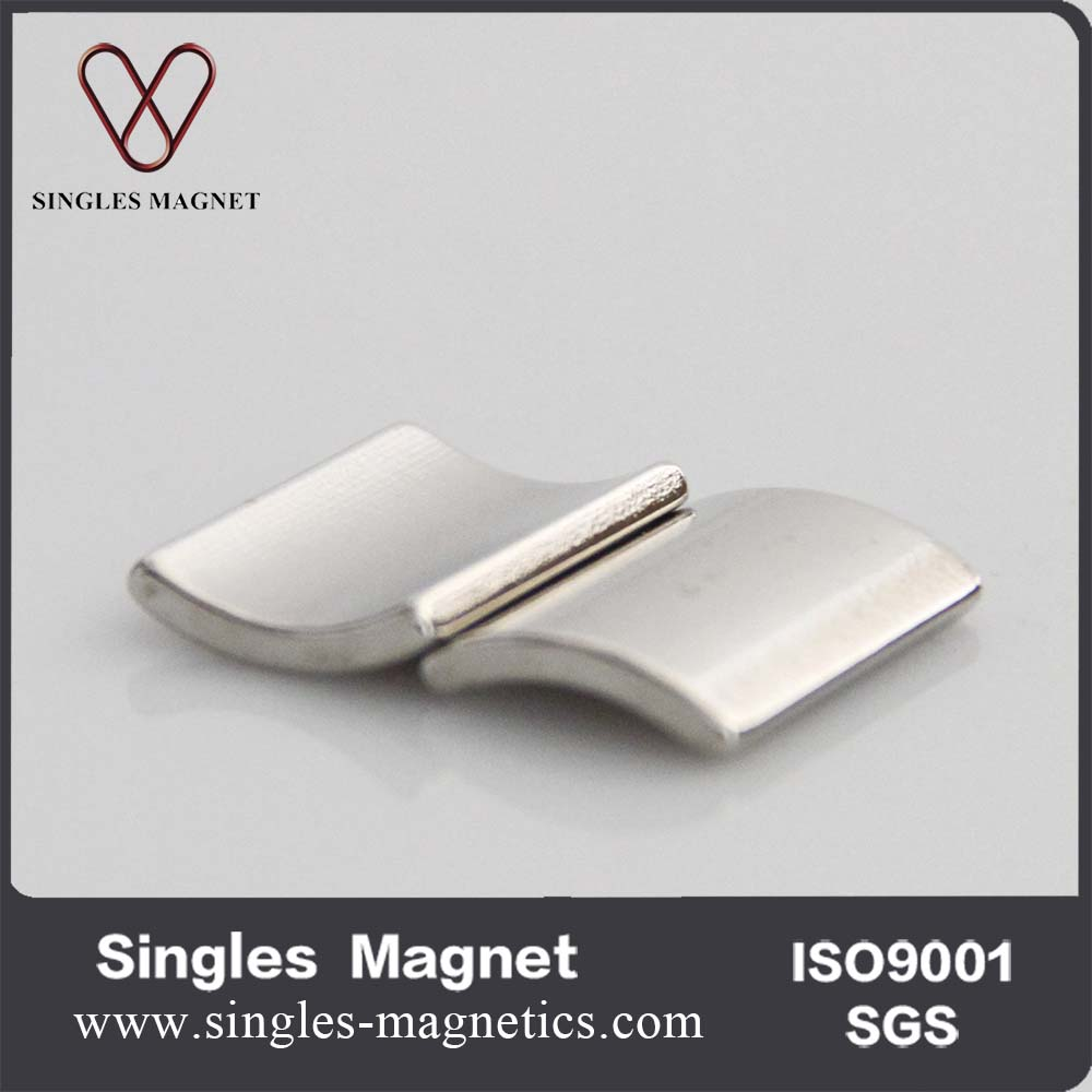 China Industrial Arc/sector/wedge Neodymium Magnet For Generator ...