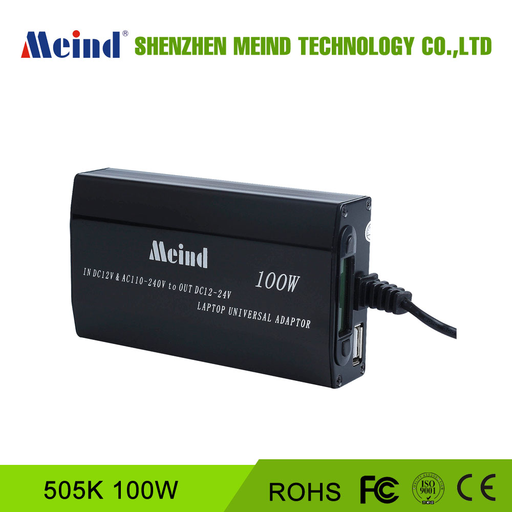 100W Automatic Universal 12v 24v power <strong>Adapter</strong>/Laptop Adaptor with LCD for home & car