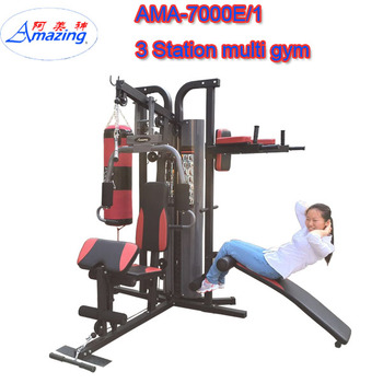 fitness equipment 3 station home gym gym master home used multi home rh alibaba com multi home gym wire multi home gym marcy bruce lee