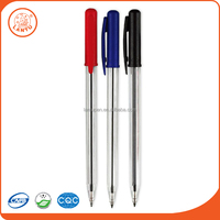 Lantu 2016 China Product Cheapest Simple Style Plastic Ball Point Pen For School