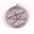 P82 Huilin Jewelry FAERY STAR Elven Amulet - Fae Elf Magic Crystal Metal Pendant