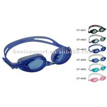 silicone swimming glasses,hot sale goggles, waterproof anti-fog swmming goggles