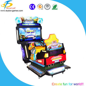 car racing game simulator for teenagers and adults-55 inch 4D SONIC