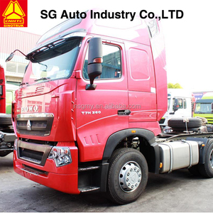 china howo sinotruk T7H with MAN engine high top 6X4 tractor head for sale
