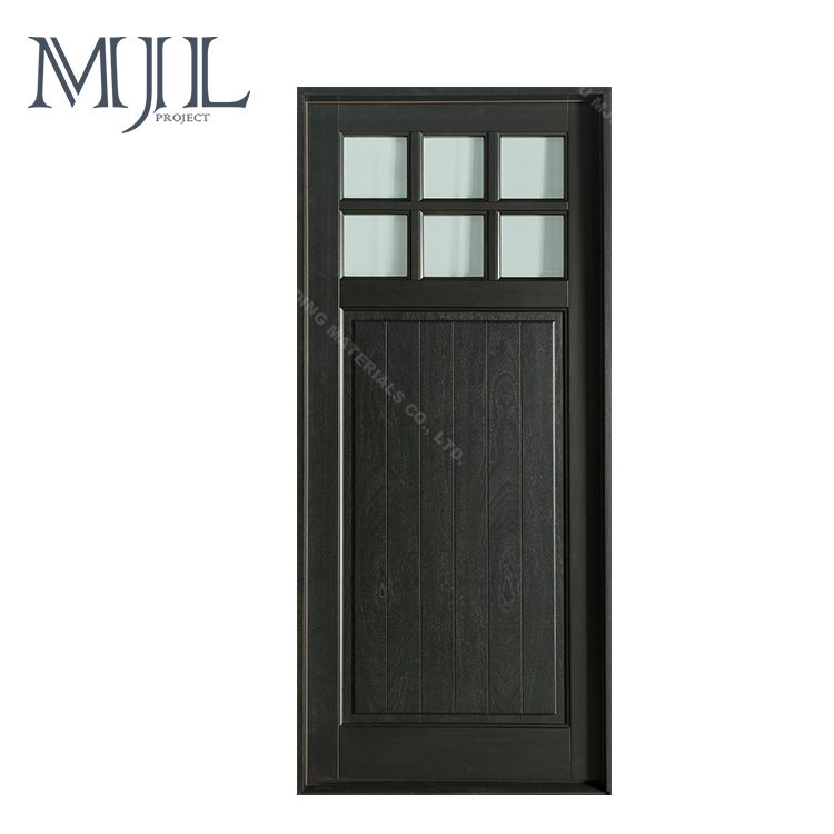 Wooden Door for Houses, Interior Swing Bedroom Door in Wood