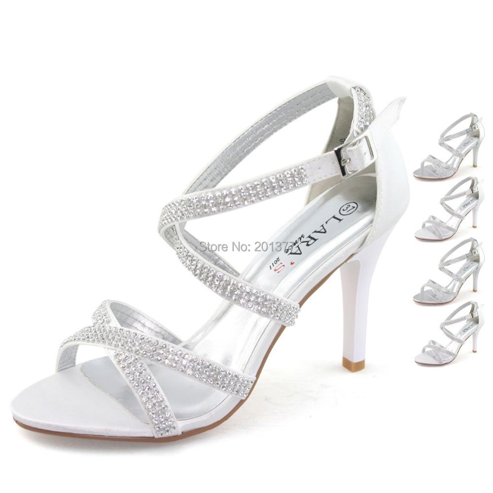 White Dress Shoe Womens Wide