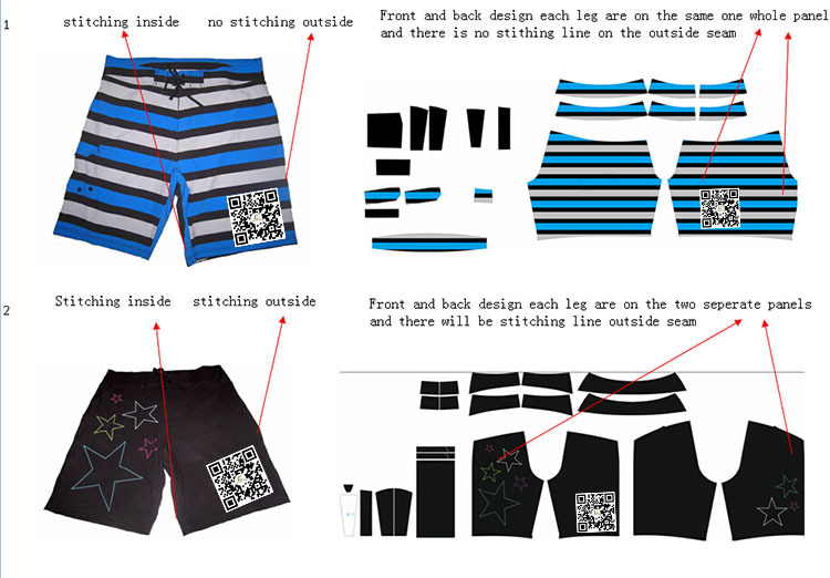990ec1d9936 Full Sublimation Design Spandex Polyester Camo Men s Surf Boardshorts