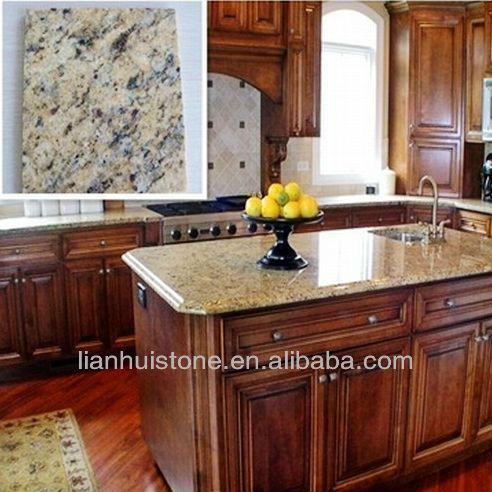 de brasil giallo cecilia granito encimera de la cocina
