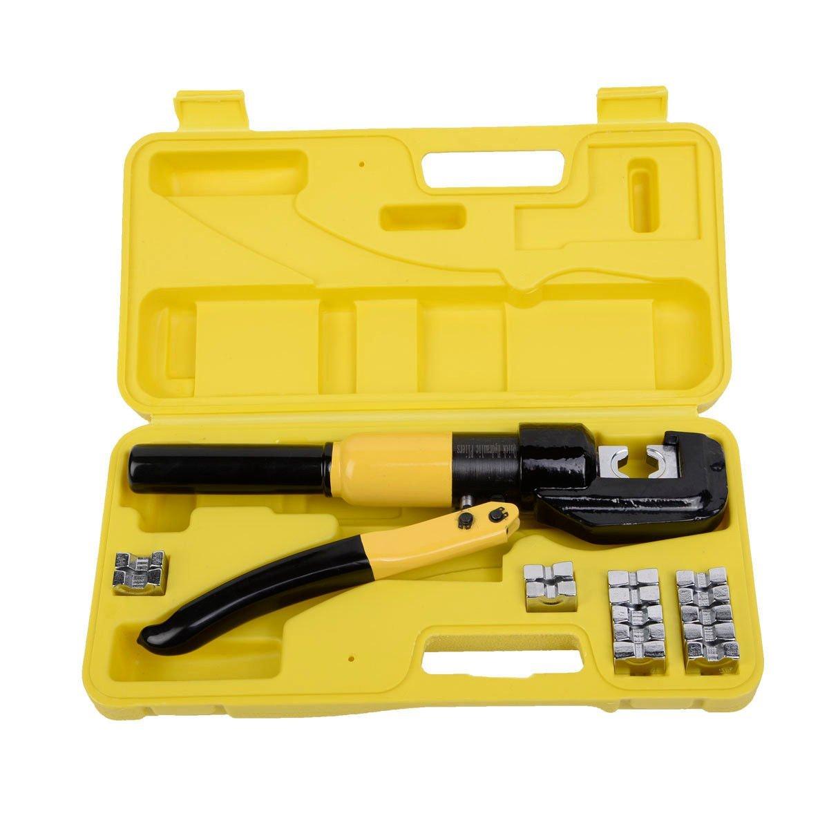 Crimping Tool Kit 8 Ton 4mm 70mm HYDRAULIC