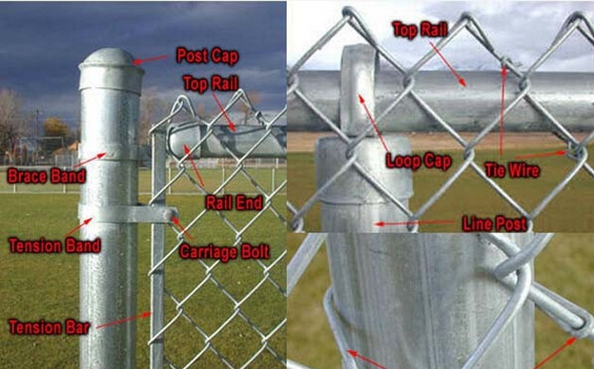 73 High Quality Used Chain Link Fence Wrought Iron Gate