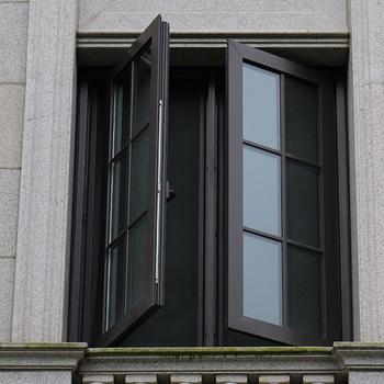 Blanco gris negro marr n color de ventana de aluminio for Ver precios de ventanas de aluminio