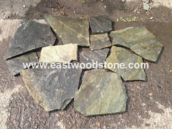 Green Crazy Cut Stone Stone Best Price Crazy Paving Stone
