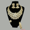 S-123 Xuping luxury designs gold plated indian bridal jewelry set for wedding, gold jewelry set women