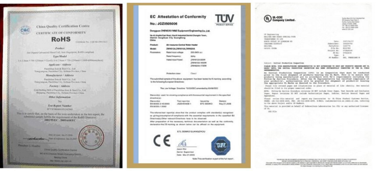 Made in china CCM แม่พิมพ์ทองแดงหลอดสำหรับ continuous casting เครื่อง