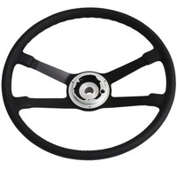 China Factory Reproduction original Leather Steering Wheel for Porsche
