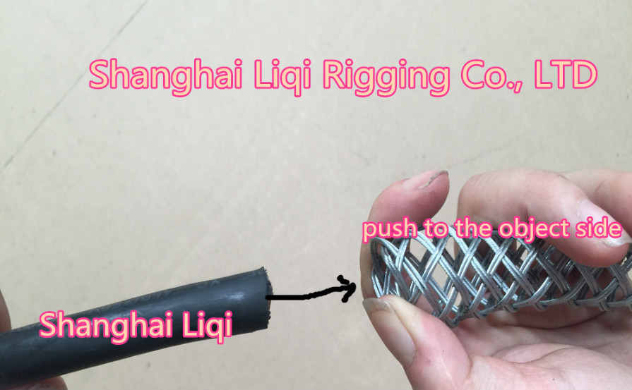 Hot Dip Galvanized Wire Grip For Cable Hoisting Socks Galvanized And ...
