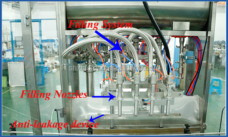 Cosmetic tube/cans filling and sealing machine automatic filling line