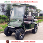 New model 4 seater electric hunting golf cart for sale