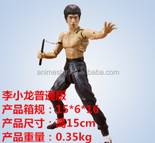 New Style Bruce Lee Action Figure Collection Toy Anime PVC Figures