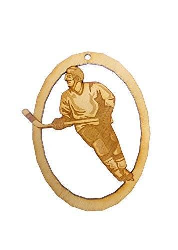 Personalized Ice Hockey Ornament - Ice Hockey Player Gift - Ice Hockey Gifts - Ice Hockey Team Gifts