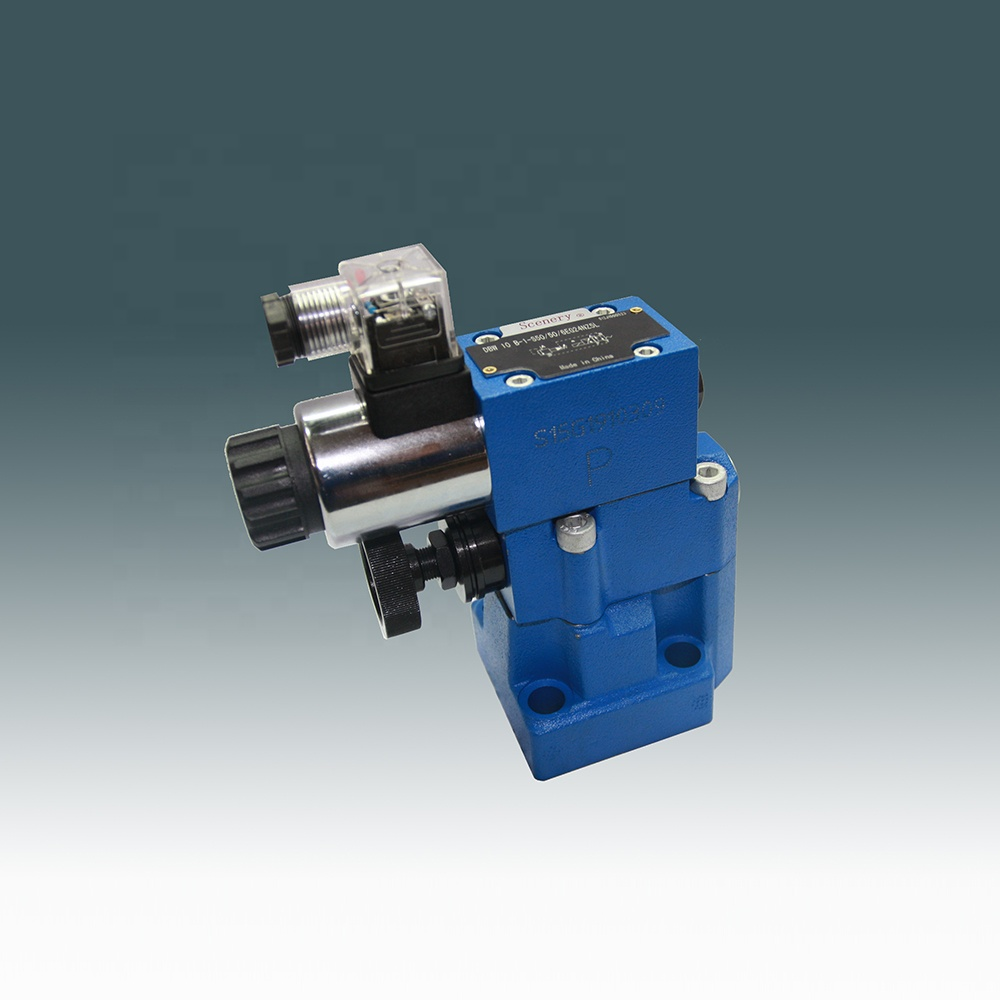 Rexroth электромагнитный клапан dbw10b гидравлический предохранительный клапан для алюминиевых слитков фрезерный станок гидравлическая система