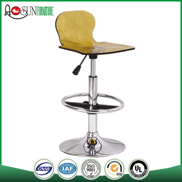 Made in china ISO 9001 Factory Acrylic simple bar stool