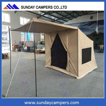 4WD car accessory offroad canvas roof tent solar power tent from China & 4wd Car Accessory Offroad Canvas Roof Tent Solar Power Tent From ...