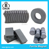custom arc block ring disc shape sintered permanent ceramic ferrite magnet
