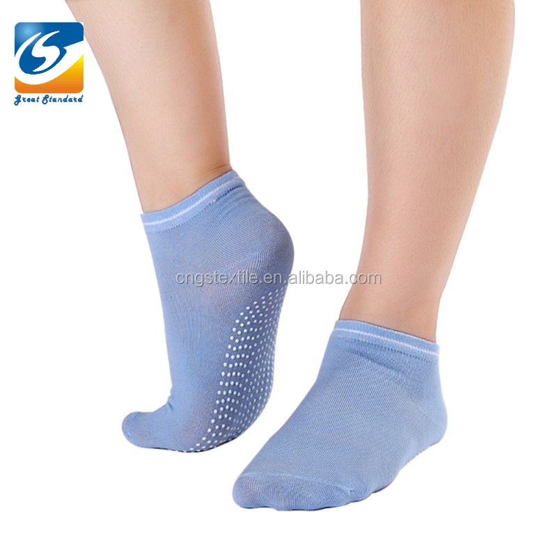 GSY-19 Ankle Cotton Trampoline Sokcks for Wholesale Varis Scoks