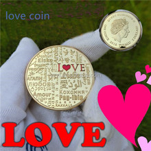 The Language of Love Coins 1 Ounce 2016 Gold Coin Lovers Creative Gifts