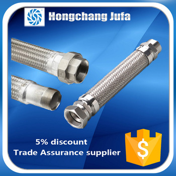 Hot Sale Stainless Steel Natural Gas Metal 1 12 Bellow Flex Hose