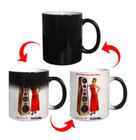 Sublimation ceramic coffee mugs promotion magic mug color changing mug cup for sublimation wholesale prices