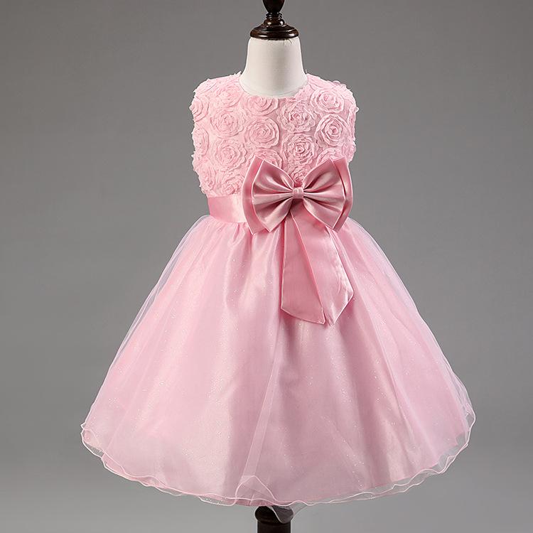 Una pieza party Girls niños vestido elegante vestido niñas vestidos ...