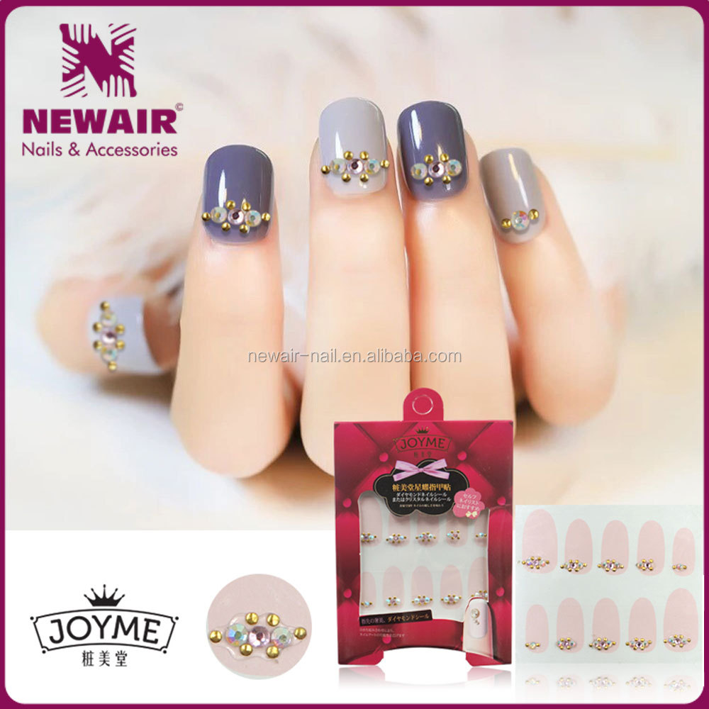 Wholesale 3d Rhinestone Nail Sticker,Jewelry Sticker Nail Art - Buy ...